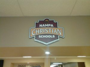 Nampa Christian Schools Signage