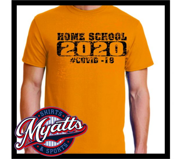 Covid Class Of 202 Home School T Shirt Men's