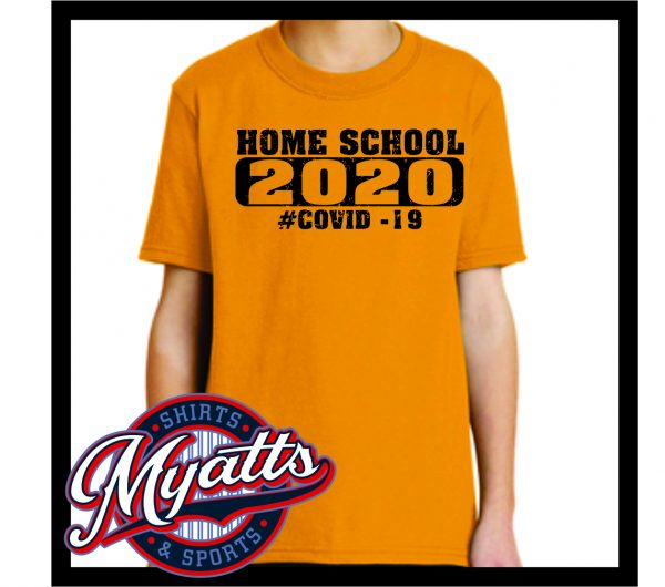 Covid Class Of 202 Home School T Shirt Youth