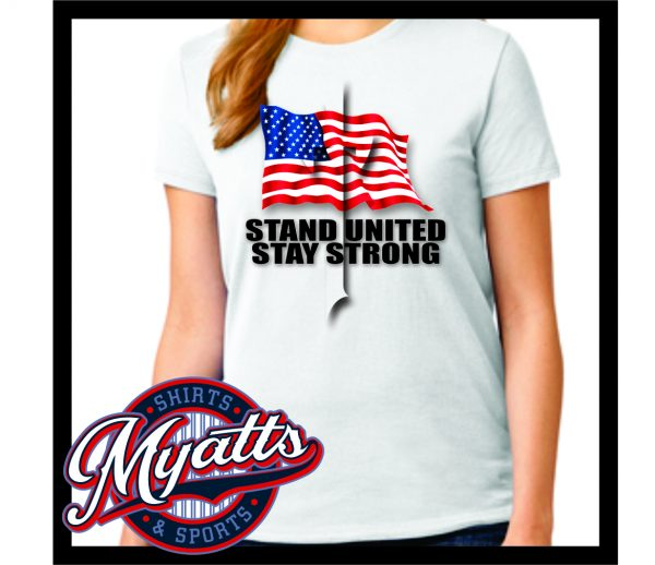 Stay United Stay Strong Virus T Shirt Women's